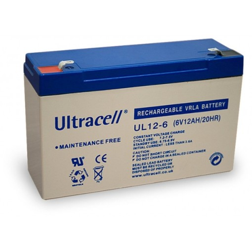 Batteria-Ricaricabile-6V-12Ah,-Ultracell-UL12-6(Faston-187---4.8-mm)_Ultracell_IBT-PS-UL126_distributore-per-rivenditori-31